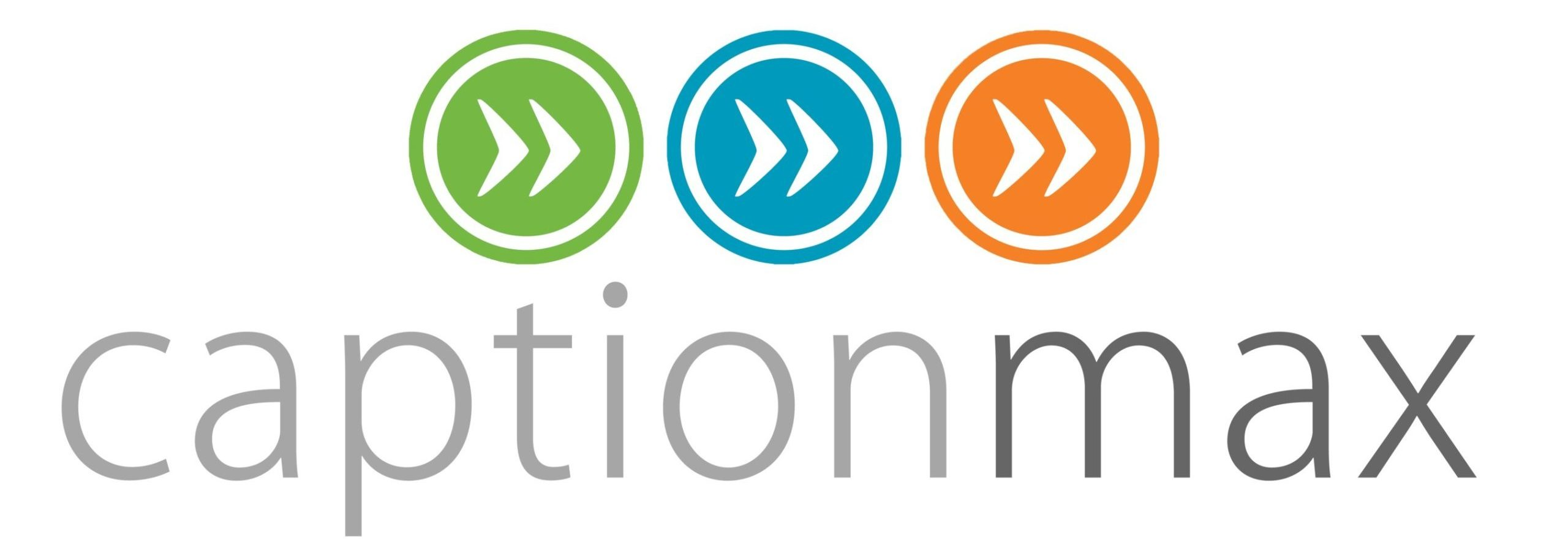 Logo for CaptionMax