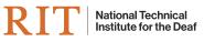 RIT/NTID logo